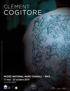Affiche exposition Cogitore Chagall