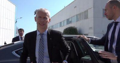 Le Ministre de La Culture en Visite à La Victorine
